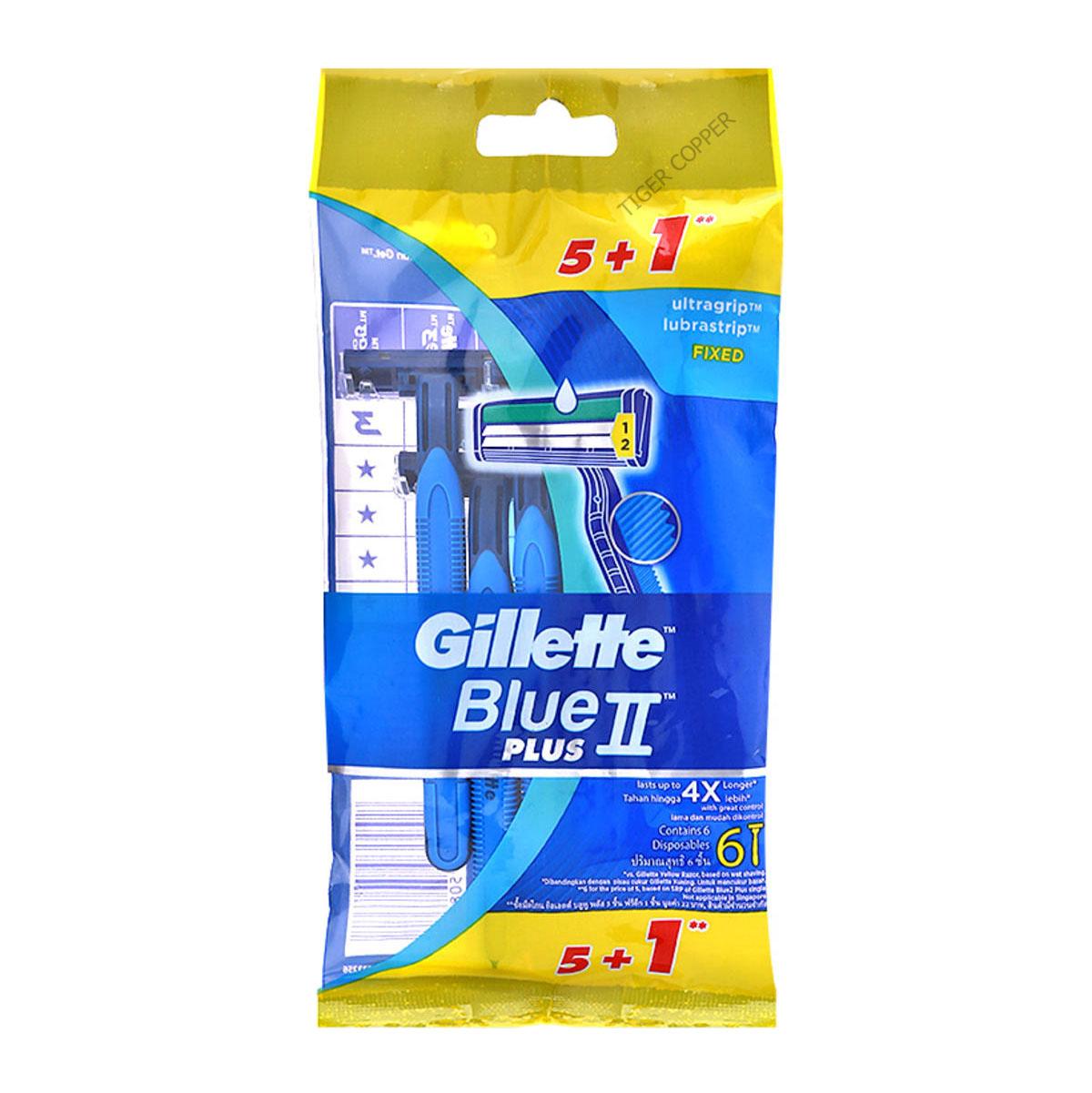 gillette-bule-ii-plus-pack-6