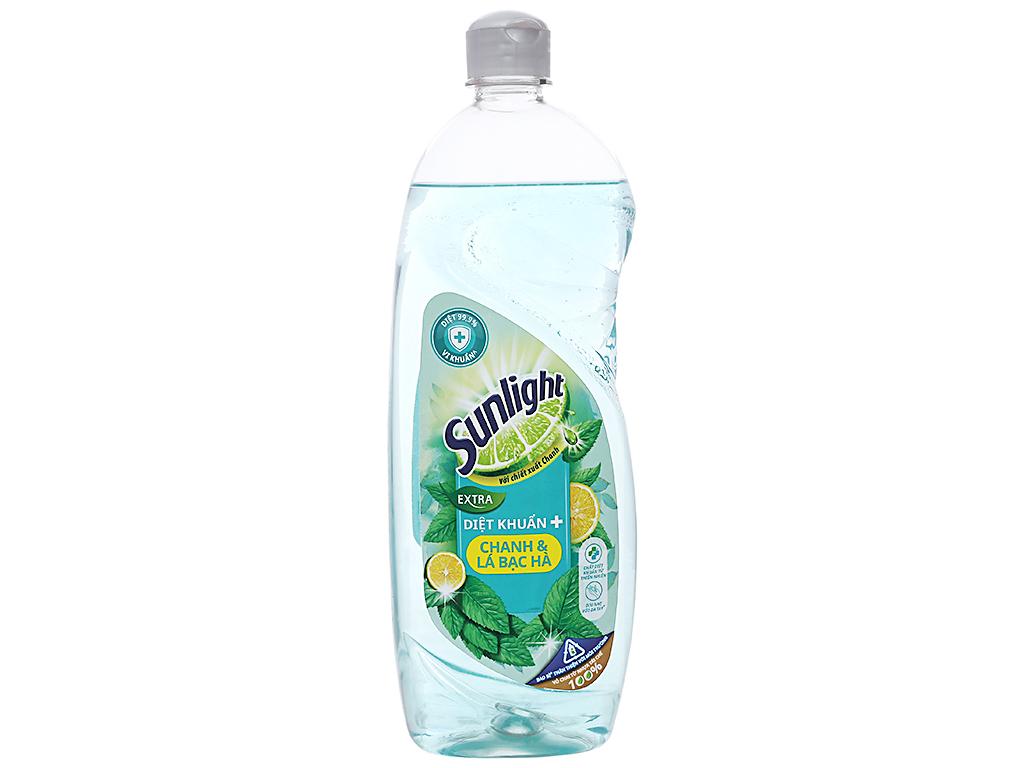 sunlight-dishwashing-liquid-extra-lemon-peppermint-750g