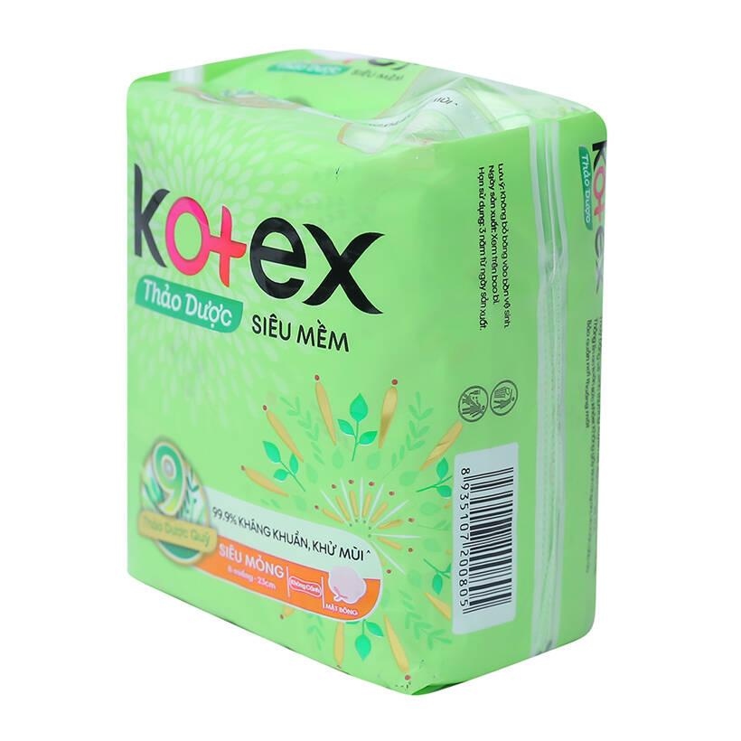 kotex-herbal-super-thin-non-wings-sanitary-pad-pack-8s
